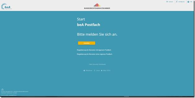Rechtsanwalt Andreas Schwartmann beA ist da -  So melden Sie sich an ERV Anwaltspflichten Anwaltsleben